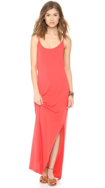 Splendid Maxi Tank Dress with Slit