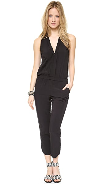 Splendid V Neck Jumpsuit