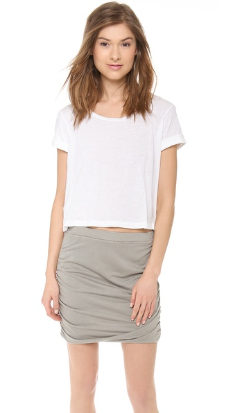 Splendid Vintage Whisper Cropped Tee