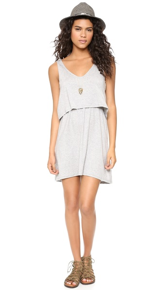 Splendid Draped Tank Dress