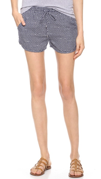 Splendid Basket Weave Print Shorts