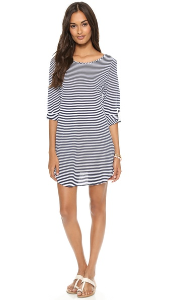 Splendid Malibu Stripe Cover Up