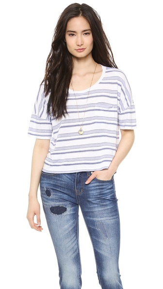 Splendid Blue Ridge Stripe Tee