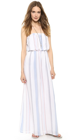 Splendid Canyondale Stripe Maxi Dress