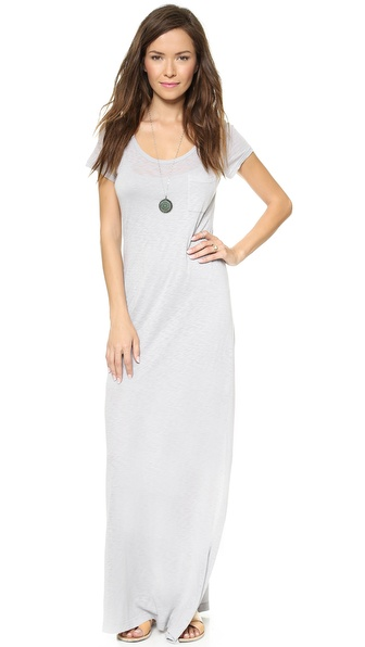 Splendid T-Shirt Maxi Dress wtih Slit