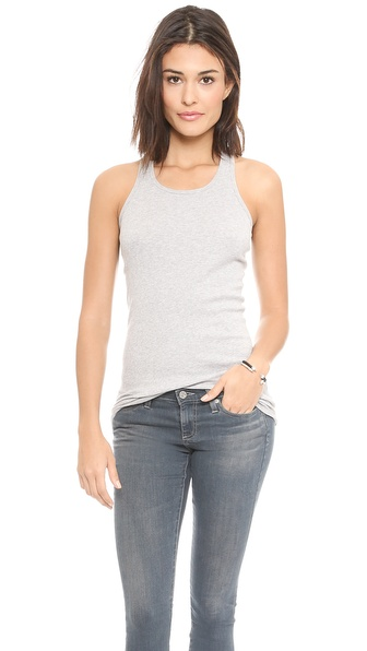 Splendid 2x1 Rib Racer Back Tank Top