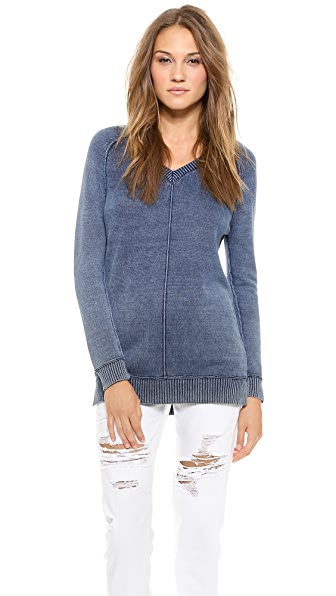 Splendid Indigo Boyfriend Sweater