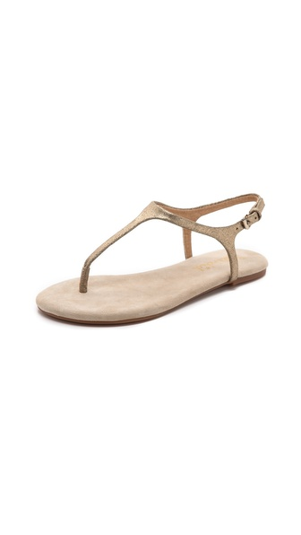 Kupi Splendid cipele online i raspordaja za kupiti Crackled metallic faux leather lends playful glamour to simple Splendid sandals. Buckle ankle strap. Rubber sole. Imported, China. This item cannot be gift boxed. Available sizes: 6,8.5,9.5,10