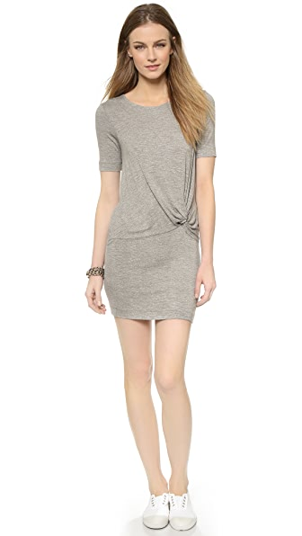 Kupi Splendid haljinu online i raspordaja za kupiti Splendid Twist Front Dress Heather Grey online