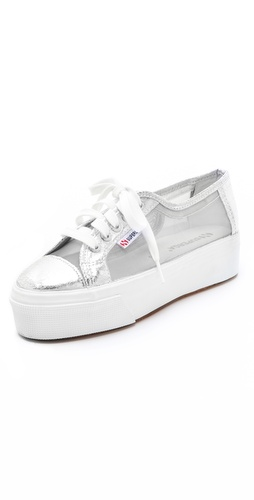 Superga Platform Net Sneakers at Shopbop.com