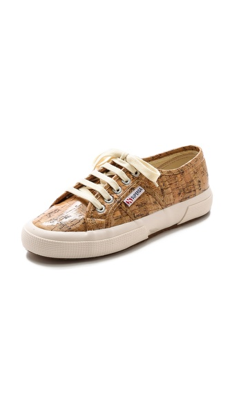 Superga Cork Sneakers