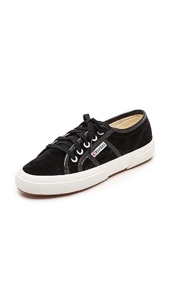 Superga 2750 Suede Patent Sneakers