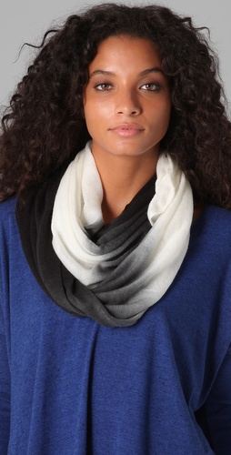 Spun Scarves by Subtle Luxury Ombre Infinity Scarf