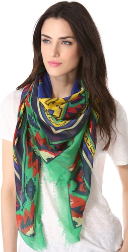 Spun Scarves by Subtle Luxury Geometric Scarf
