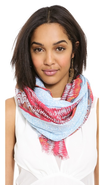 Spun Scarves By Subtle Luxury Easy Breezy Scarf - Blue