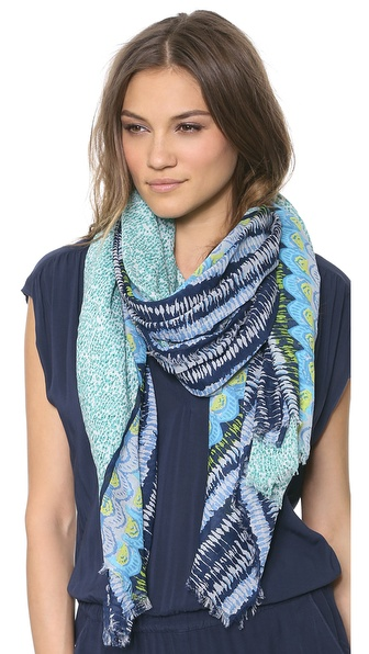 Spun Scarves By Subtle Luxury Easy Breezy Scarf - Teal