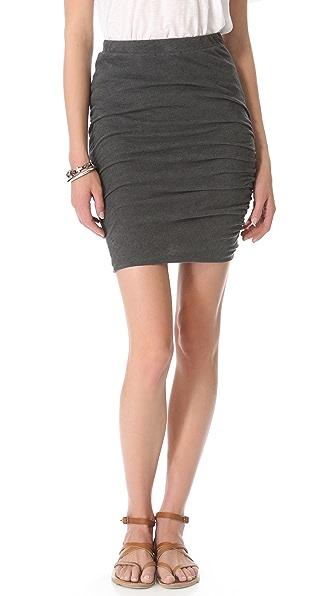 Stateside Mock Twist Skirt