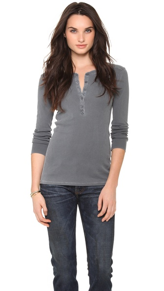 Stateside Long Sleeve Henley