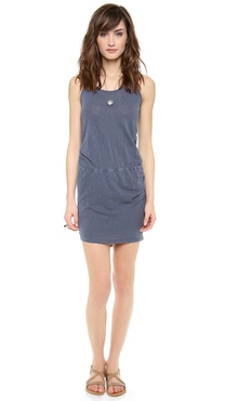 Stateside Twisted Slub Dress