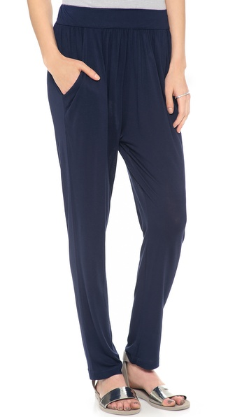 Stateside Draped Cropped Pants