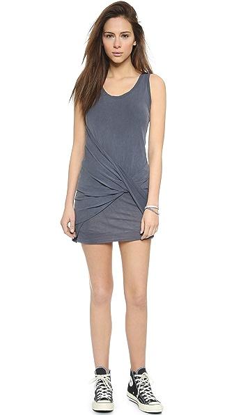 Kupi Stateside haljinu online i raspordaja za kupiti Stateside Twist Front Mini Dress - Charcoal online