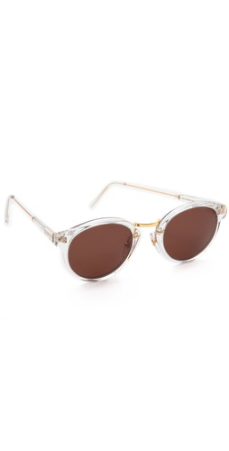 Super Sunglasses Crystal Francis Panama Sunglasses