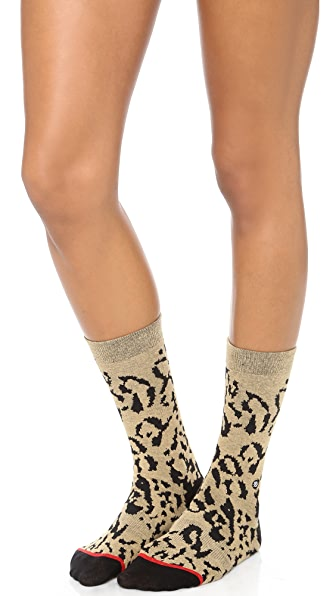 STANCE Everyday Crew Cheetah Socks