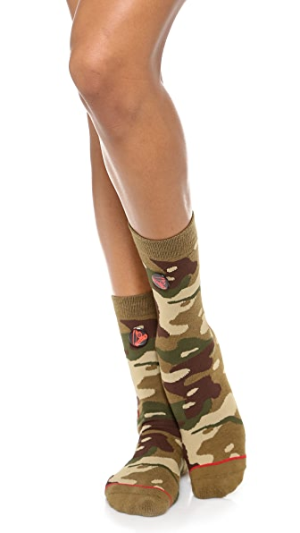 STANCE Everyday Camo Crew Socks