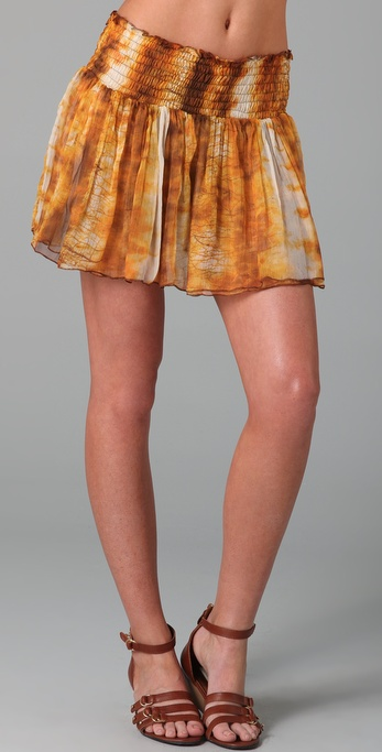 state & lake Flutter Skirt