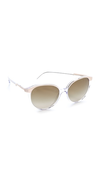 Stella McCartney Ultrathin Round Sunglasses