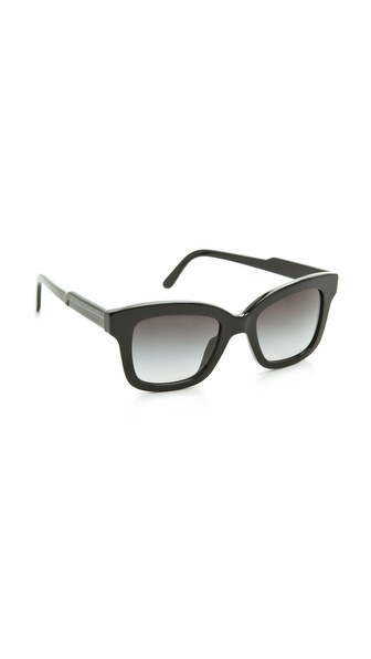 Stella McCartney Thick Square Sunglasses