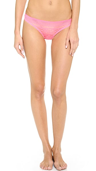 Stella McCartney Magnolia Shrugging Thong