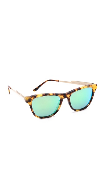 Stella McCartney Square Mirrored Sunglasses
