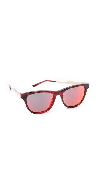 Stella McCartney Square Olographic Sunglasses