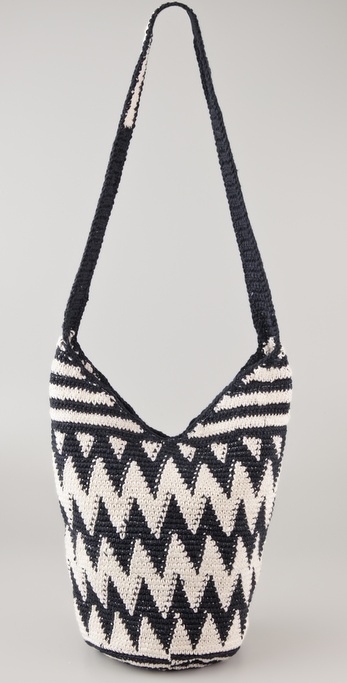 Stela 9 Zigzag Crochet Beach Bag