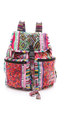 Stela 9 Santiago Patchwork Backpack at Shopbop.com