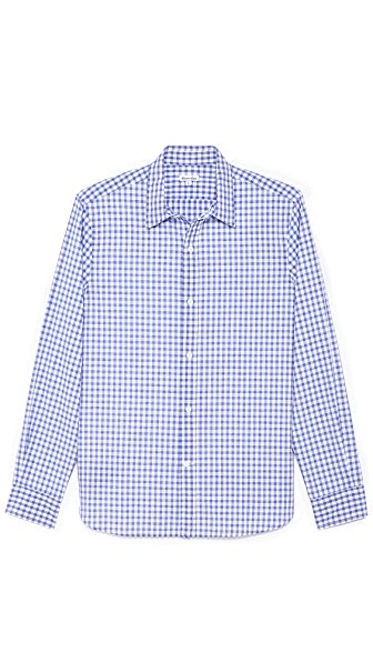 Steven Alan Gingham Sport Shirt