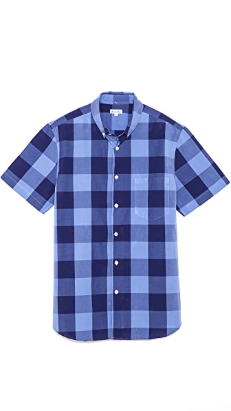 Steven Alan Check Short Sleeve Shirt