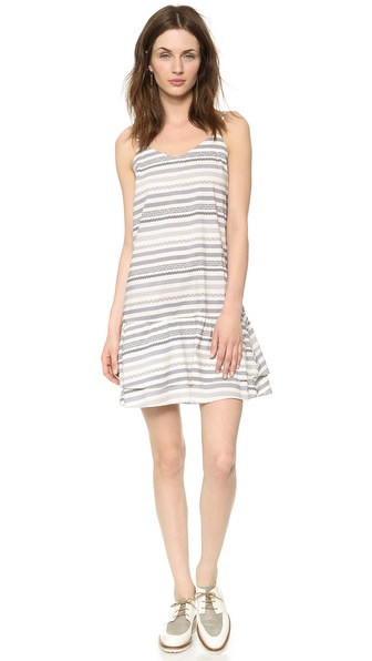 Steven Alan Drop Waist Cami Dress