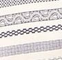 Navy Pattern Stripe