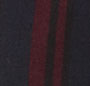 Navy/Burgundy Stripe