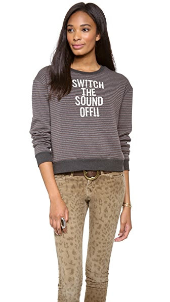 Stripe by N Sound off Sweatshirt