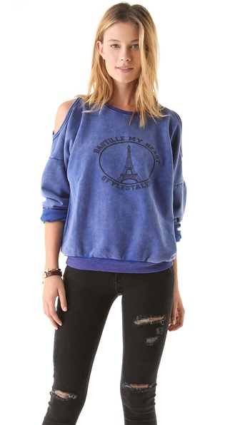 STYLESTALKER Bastille My Heart Sweatshirt
