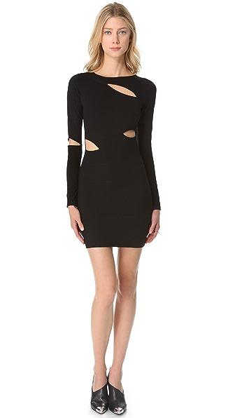 STYLESTALKER Gogo Slashed Dress