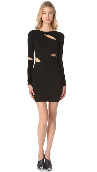 STYLESTALKER Gogo Slashed Dress