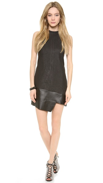STYLESTALKER Quilted Shift Dress