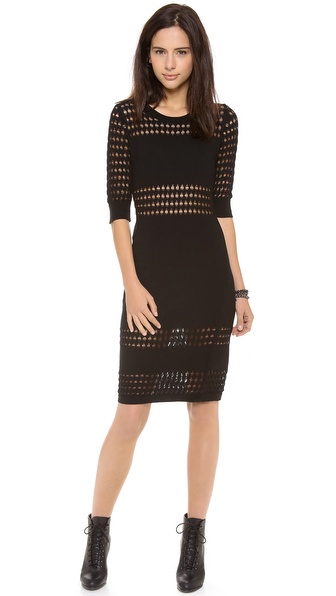 STYLESTALKER Holed Out Dress