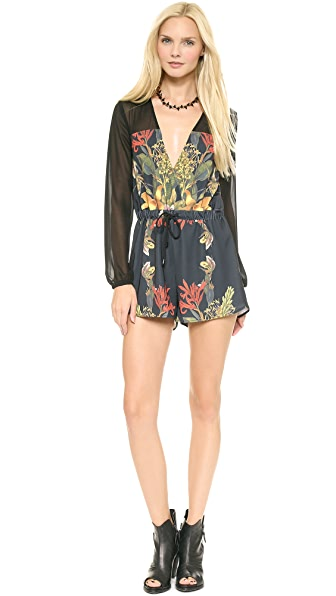 STYLESTALKER Love On Top Romper