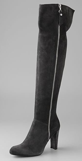 Stuart Weitzman Zip Over the Knee Boots