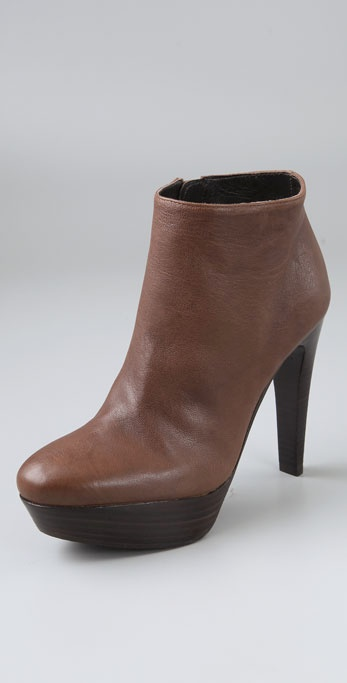 Stuart Weitzman Want It Platform Booties